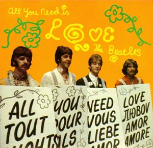 """All You Need Is Love""/""Baby, You're A Rich Man"""