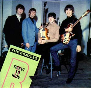 """Ticket To Ride""/""Yes It Is"""